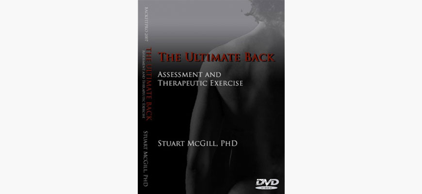 DVD: The ultimate back Assessment and Therapeutic exercise